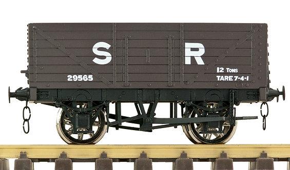 R32-1FX Plank Wagon - SR Brown, 1 car