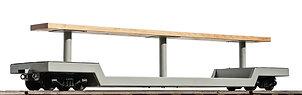 "Drop Center Flat Car (1.6"" Scale)"
