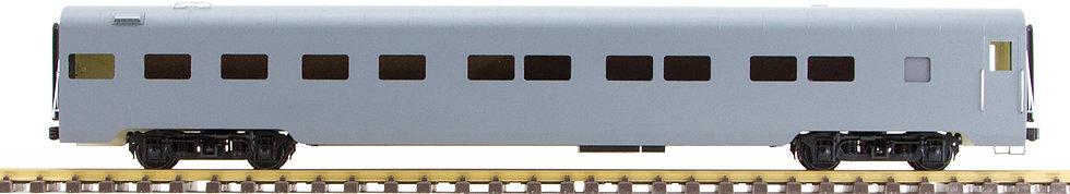Unlettered, Gray, Pullman Sleeper Car, 1 car, AL34-351