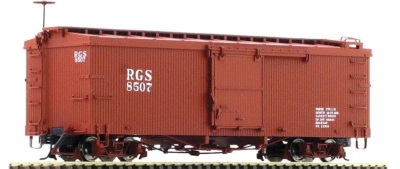AM52-015X On30 Box Car - RGS, 1 car