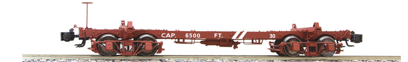 AM2216-07 Short Logging Car - Westside #43, 1 car