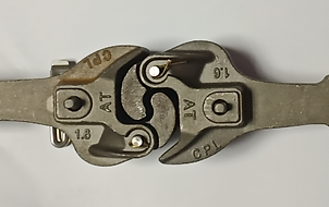 "Steel Coupler  (1.5/1.6"" Scale)"