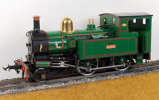 E20-7G Mannin #16 IoM 2-4-0T, Green, Electric