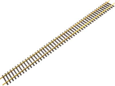 AM49-101 Code 250 5ft Flex Track - Standard Gauge, Brass (12)