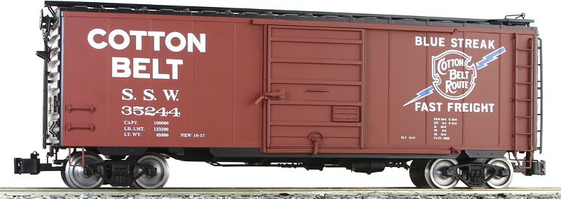 G401-01X PS-1 Box Car - Cotton Belt, 1 car