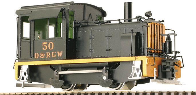 AM55-033 On30 - Diesel Switcher 0-4-0, D&RGW #50