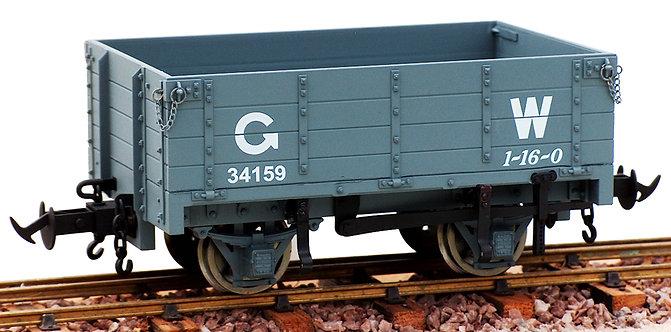 R19-3CD W&L Open Wagon, GW Dark Grey #34170