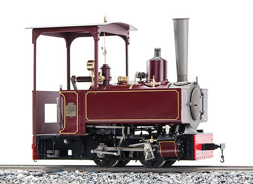 B77-531 Decauvile 3-T 0-4-0, Maroon, Live Steam