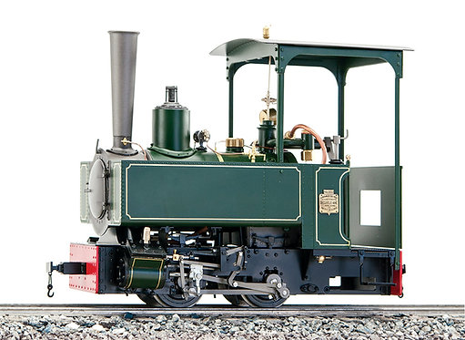 B77-532 Decauvile 3-T 0-4-0, Green, Live Steam