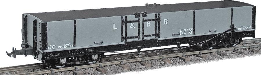 R19-12CA L&B Bogie Goods Wagon, L&B Grey #12