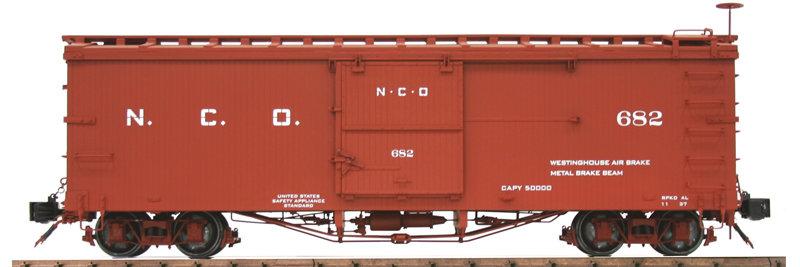 AM20-204X Box Car - N.C.O., New, 1 car