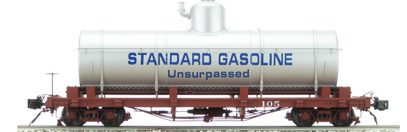 AM31-440B Tank Car - Standard Oil Co. Silver #189