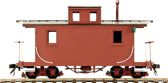 AM53-010 On30 Short Caboose - Unlettered, 1 car