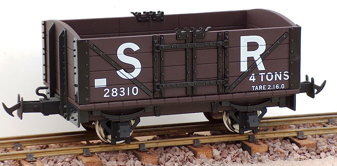 R19-1BC L&B Open Wagon, SR Brown #28310