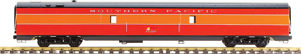 Southern Pacific, Daylight Red & Orange, Baggage Car, 1 car, AL34-325