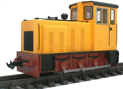 E19-1Y Baguley Drewery 0-6-0 Diesel, Yellow, Electric, New