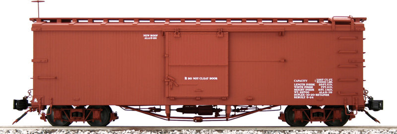AM2201-01 Box Car - D&RGW Data Only, Flying Rio Grande, 1 car