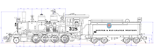 D&RGW C-18 2-8-0 (1:20.3)