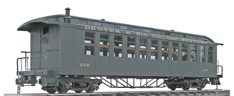 T760-11 Ride-On Coach - D&RGW Green