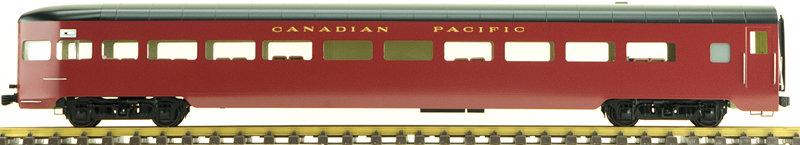 Canadian Pacific, Maroon, Observation Car, , 1 car, AL34-379