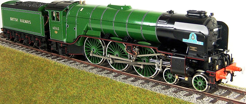 "S32-12A Tornado - Lined Apple Green, Rimless Chimney ""British Railways"""