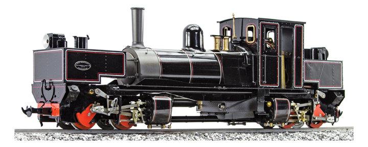S19-28A Tasmanian K1 Garratt 0-4-4-0, Fully Lined Black, Live Steam