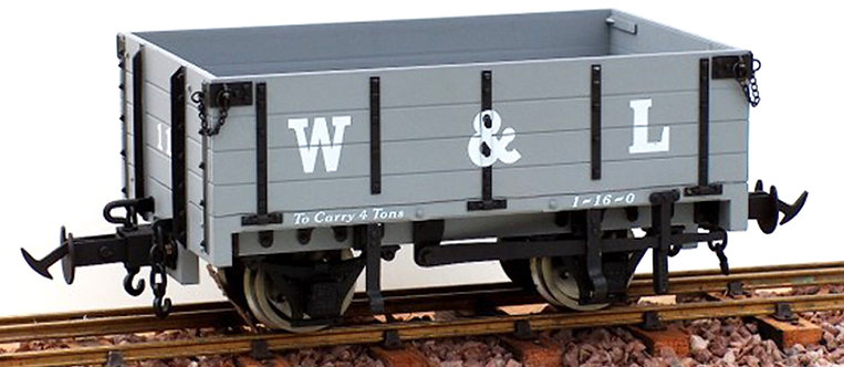 R19-3AC W&L Open Wagon, GW Light Grey #17