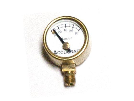 """Pressure Gauge 0-100psi, 3/4"""" Diameter"""