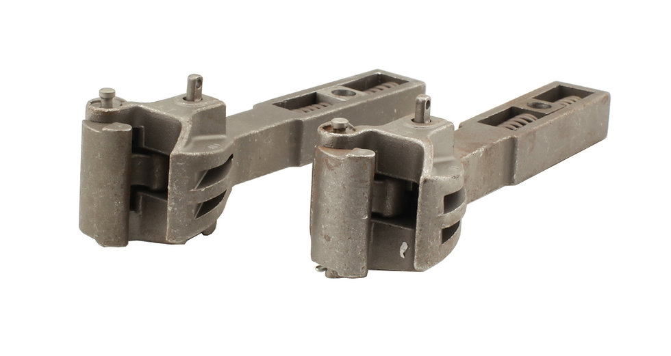"""Accucraft Ride-On - 1.6"""" Scale steel coupler, Pair"""
