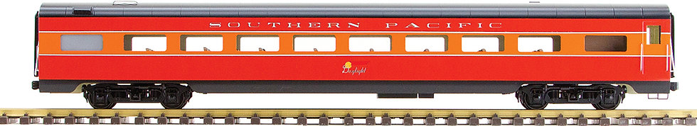 Southern Pacific, Daylight Red & Orange, Coach, 1 car, AL34-315