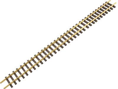 G202-01 Code 332 6ft Flex Track - Euro Narrow Gauge, Brass (12)