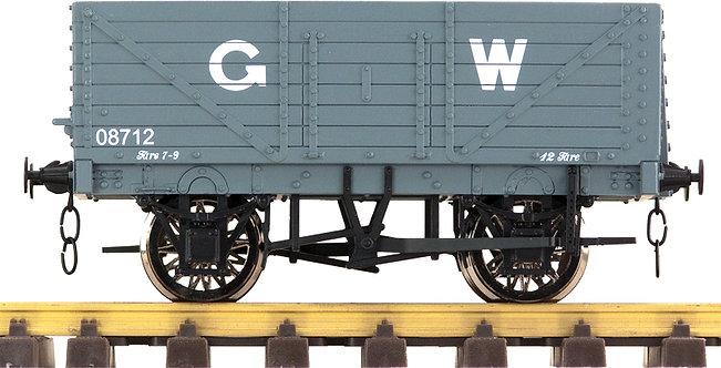R32-1CX Plank Wagon - GWR Grey, 1 car