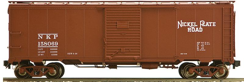 AM32-560X AAR Box Car - Nickel Plate, 1 car