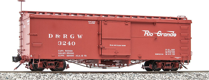 AM2201-31 Box Car - D&RGW Flying Rio Grande #3240, 1 car