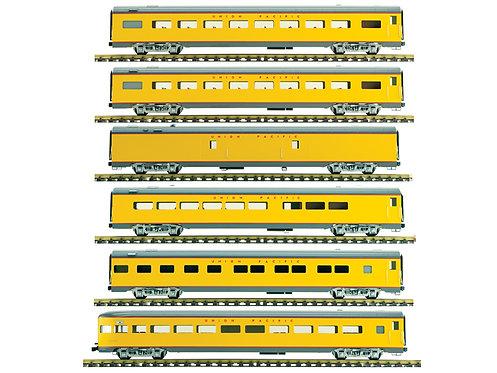 Union Pacific, Yellow, 6 Car Set, AL34-386