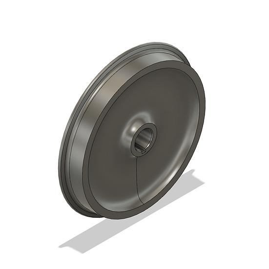 "Wheels, 1.6"" Scale, 40"" Diameter, 25 Flange"