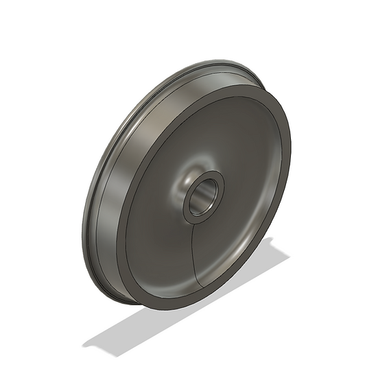 "Wheels, 1.6"" Scale, 36"" Diameter, IBLS Flange"