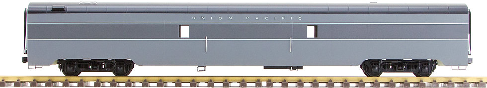 Union Pacific, Gray, Baggage Car, 1 car, AL34-323