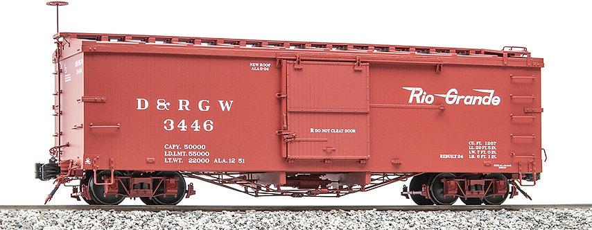 AM2201-34 Box Car - D&RGW Flying Rio Grande #3446, 1 car
