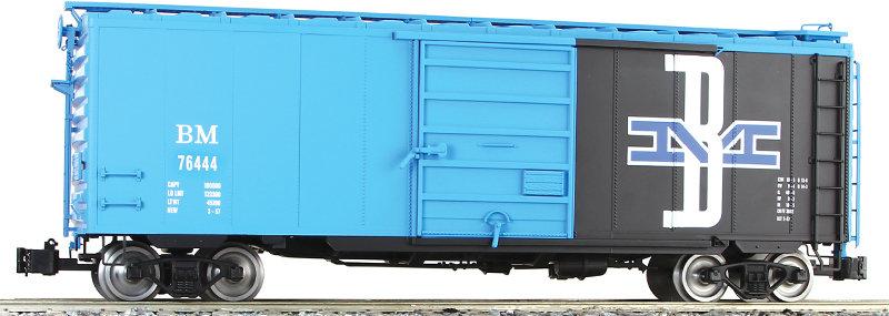 G401-04X PS-1 Box Car - BM, 1 car