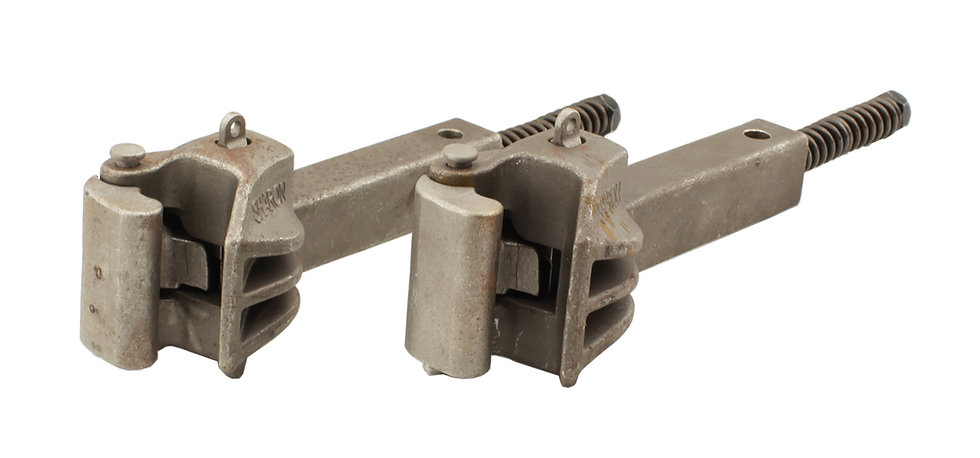 """Accucraft Ride-On - 2.5"""" Scale Sharon Coupler, Pair"""