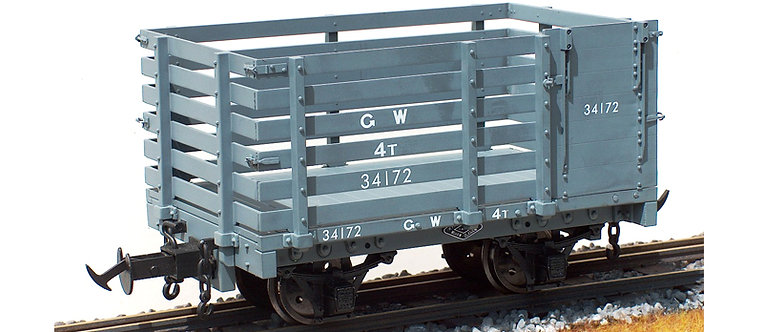 R19-23C W&L Sheep Wagon. GW Dark Grey, 1 car