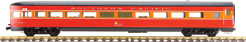 Southern Pacific, Daylight Red & Orange, Observation Car, 1 car, AL34-375