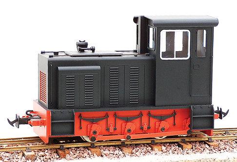 E19-1B Baguley Drewery 0-6-0 Diesel, Black, Electric