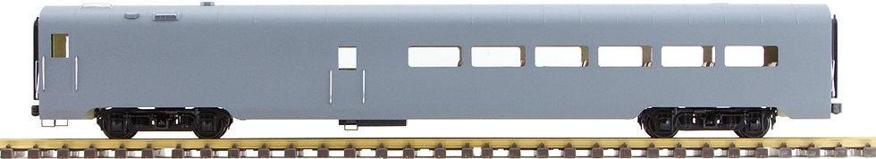Unlettered, Gray, Diner Car, 1 car, AL34-331