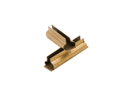 G201-91 Rail Joiners, Code 332 Brass (12)