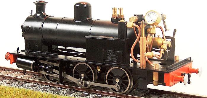 S32-14PU 0-6-0T - Power Unit (Twin Safety Valves), Black, Live Steam