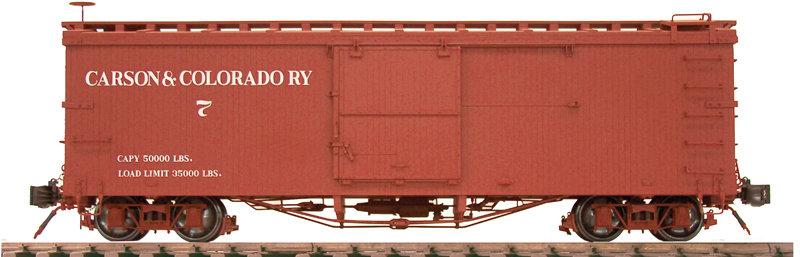 AM20-206X Box Car - Carson & Colorado, New, 1 car