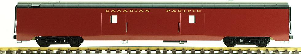 Canadian Pacific, Maroon, Baggage Car, 1 car, AL34-329