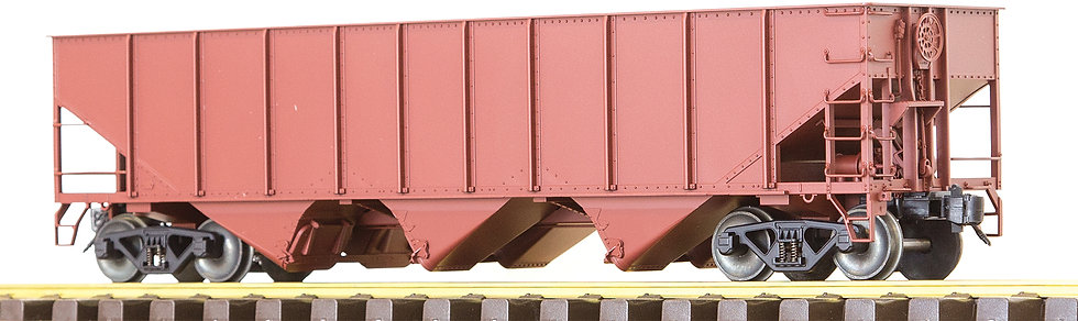AM32-607X 3-Bay Hopper w/o End Scatter Shields, Red Oxide, Unlettered